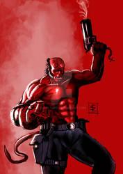 Hellboy Color version