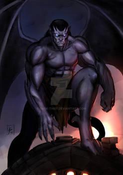 Goliath awakening - Gargoyles  commission