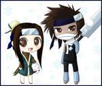 Naruto - Haku and Zabuza