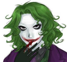 Dark Knight - just kidding. by lalalychee