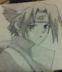 Sasuke Uchiha by CrazyNekoLady