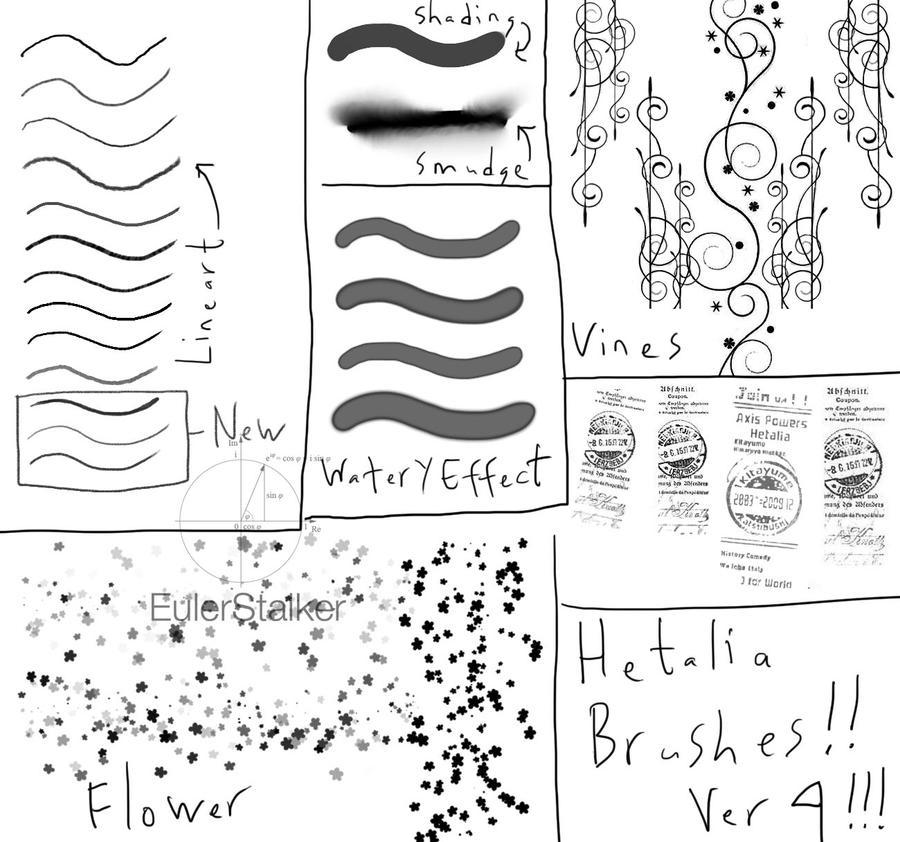 + Hetalia Brushes + by SerketStalker