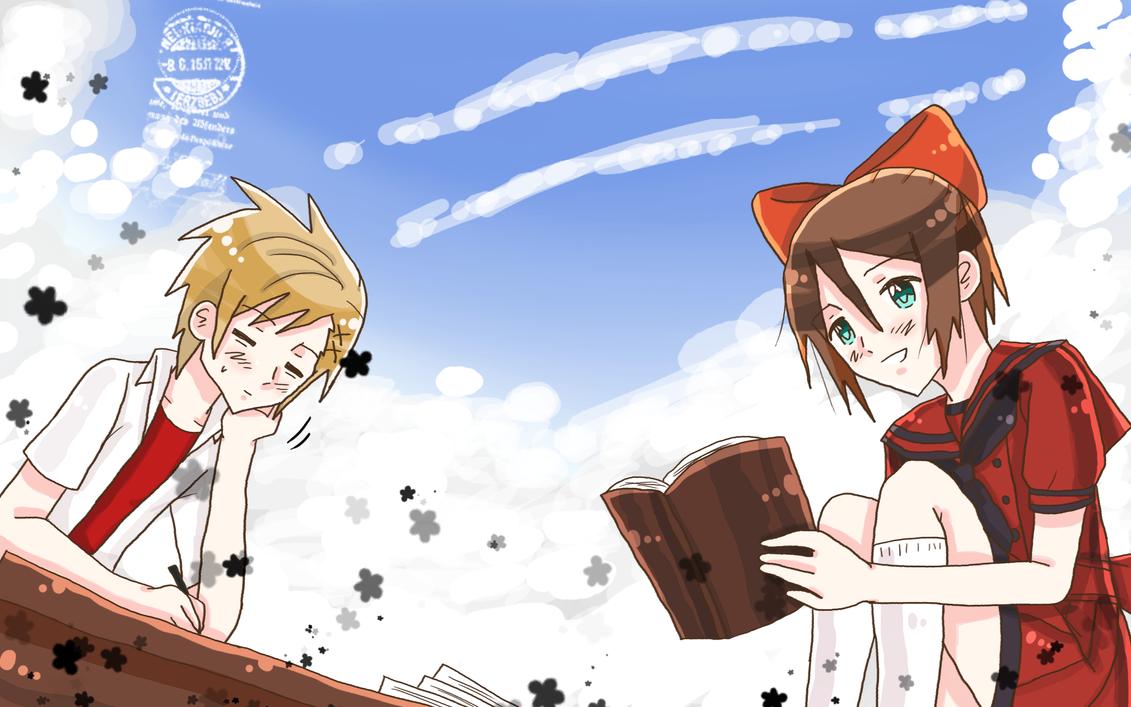 + Noto-sama and Yamato + by Serket-XXI