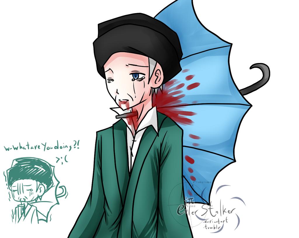 another anime umbrella death - photo #14