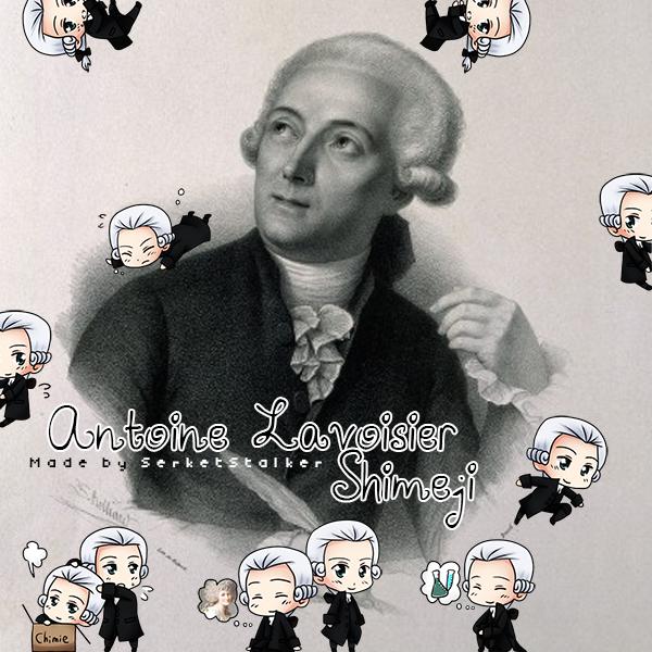 + Antoine Lavoisier Shimeji + by SerketStalker