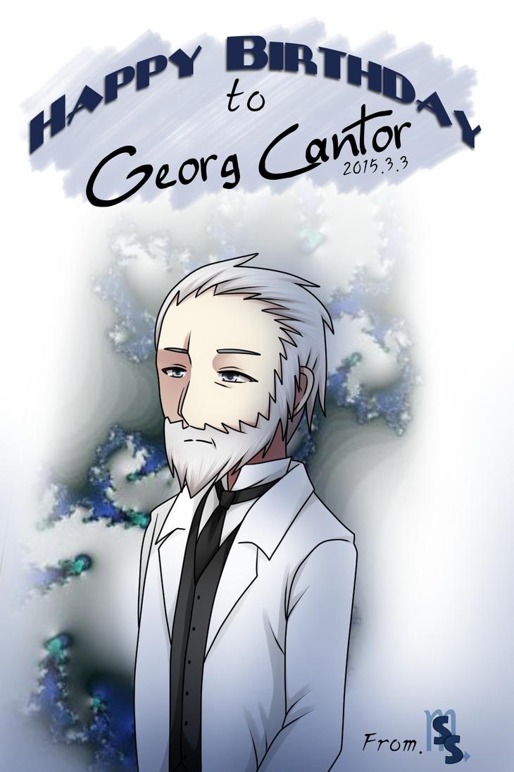 + 3 March 2015: Georg Cantor + by SerketStalker