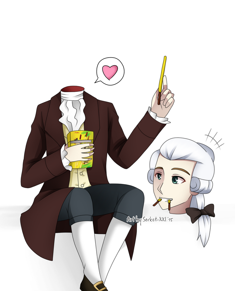 + Lavoisier: Eat with my head! + by Serket-XXI