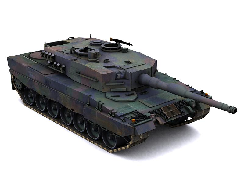 Leopard2A4 MBT by GARYOSAVAN