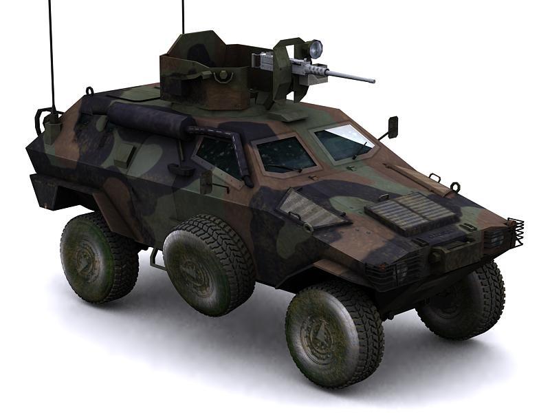 Otokar Cobra Armored Car by GARYOSAVAN