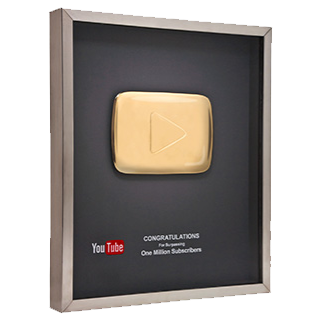 Youtube Gold Play Button 320x by GARYOSAVAN