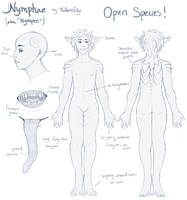 Nymphae Reference Sheet [OPEN SPECIES] by TheRiversEdge