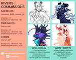 {COMMISSIONS || CLOSED}