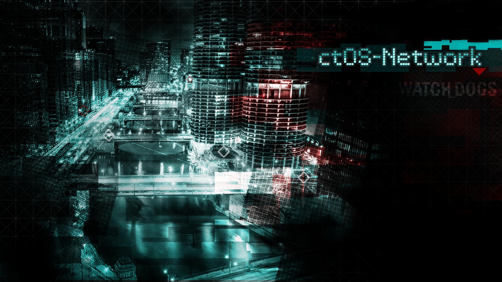 ctOS-Network wallpaper