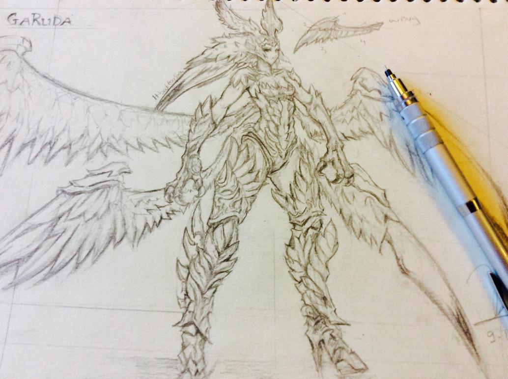 Garuda By H-Battousai On DeviantArt