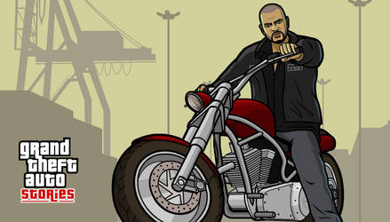 GTA Stories Johnny Klebitz by and0n