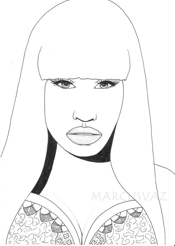 Nicki minaj by mavi95 on deviantart nicki minaj by mavi95 voltagebd Image collections