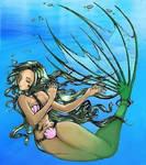 Mermaid in chains