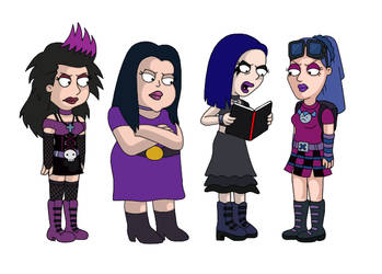 Goths by YuraofthehairFan