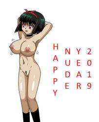 Happy nude year 2019 by YuraofthehairFan