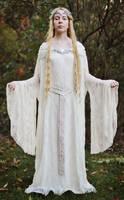 Tolkien: Galadriel Mirror Gown by MirroredSilhouettes