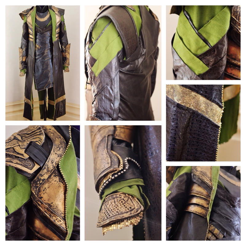 Loki Costume Details (Thor: The Dark World) by MirroredSilhouettes