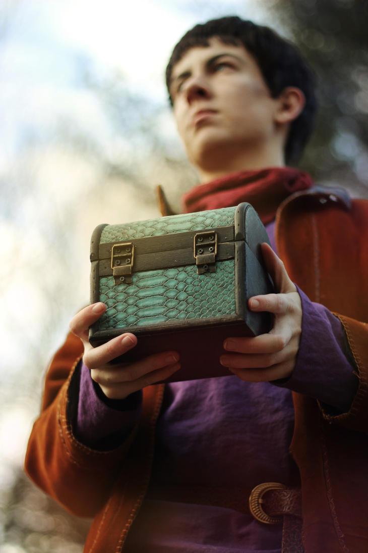Merlin: A Dragon's Treasure by MirroredSilhouettes