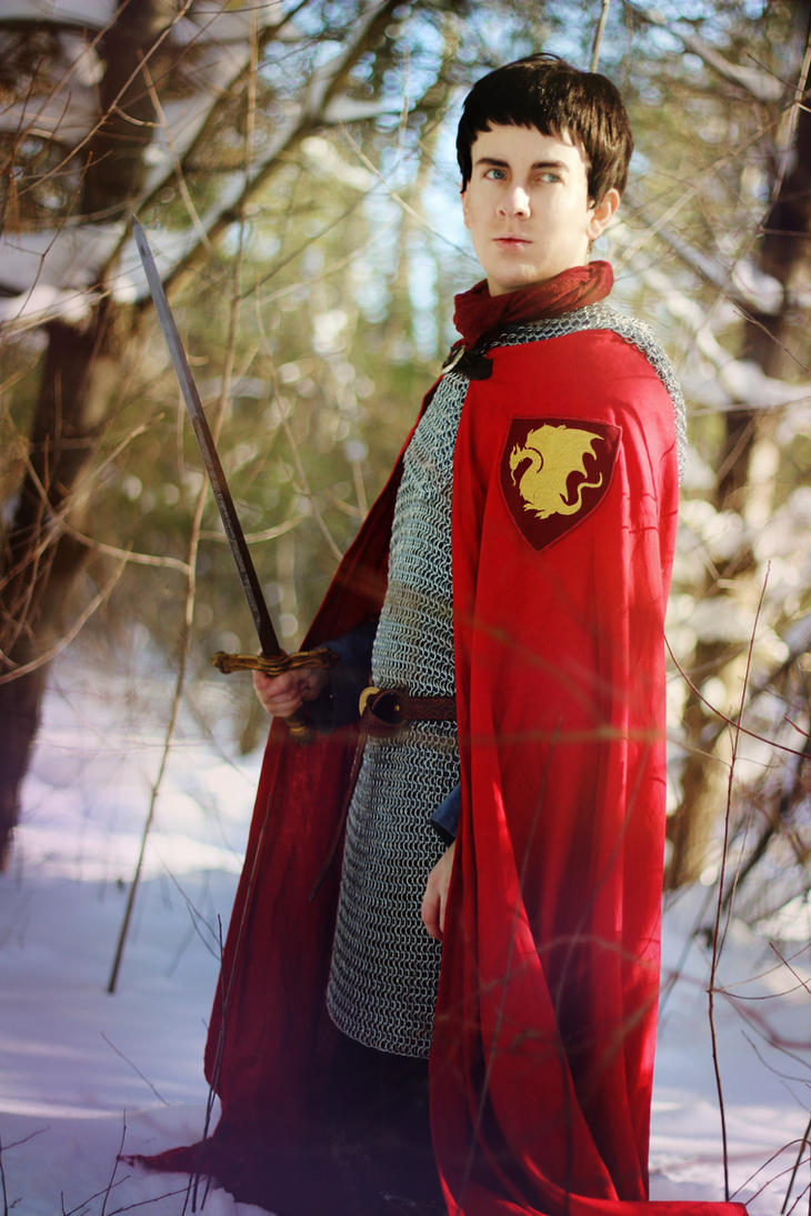 Merlin: You're the One Arthur Should Knight by MirroredSilhouettes