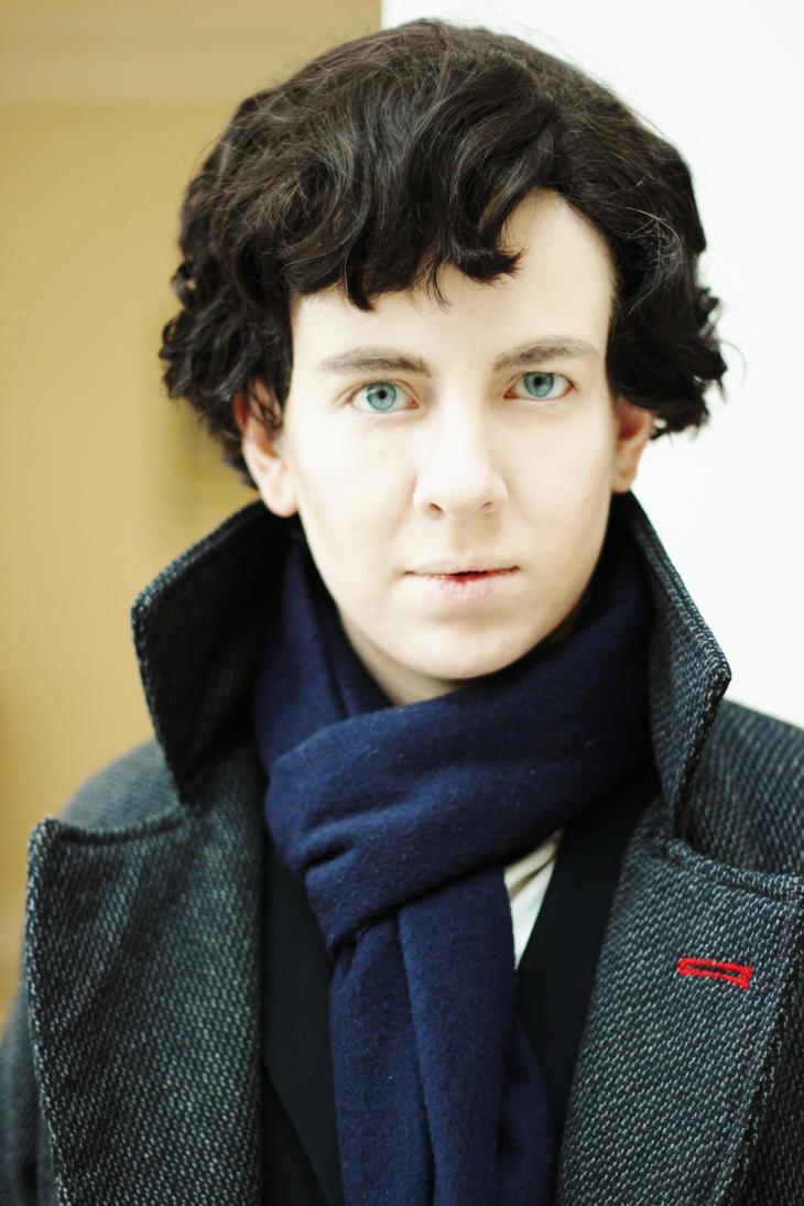 Sherlock: Portrait by MirroredSilhouettes
