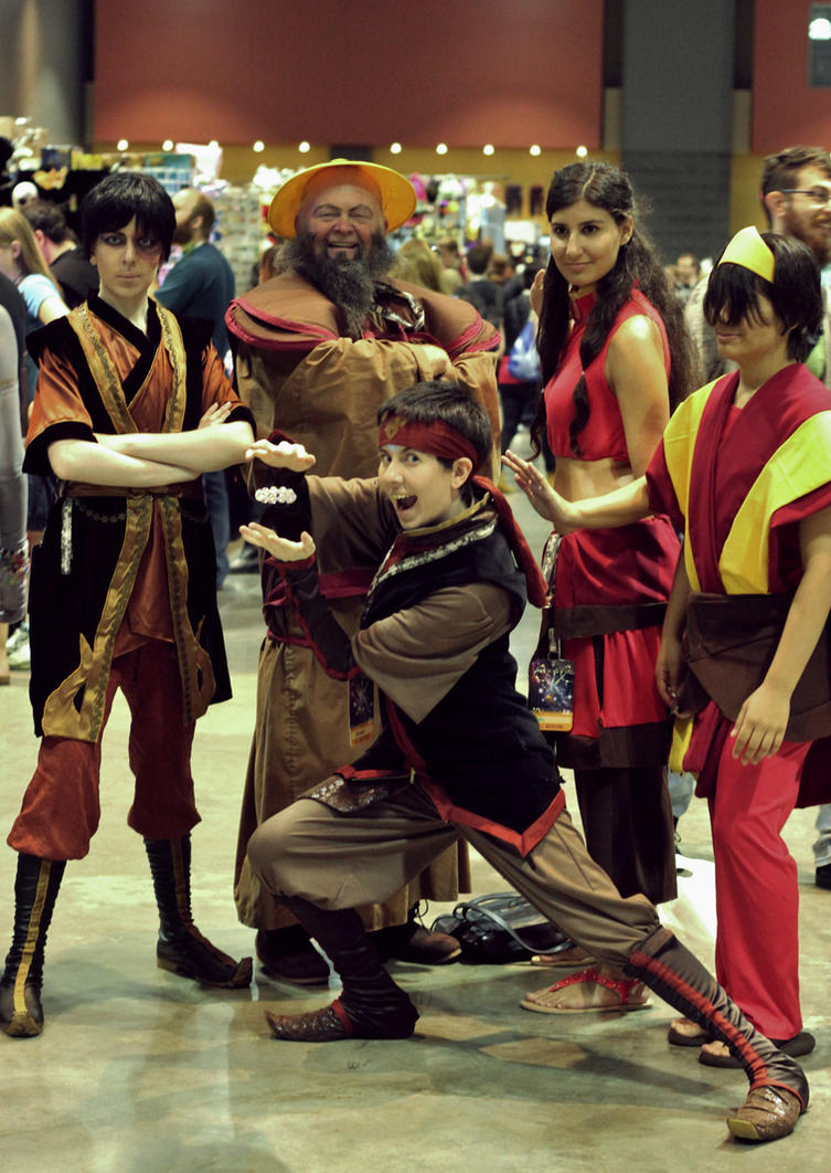 The Gaang at ConnectiCon 2015 by MirroredSilhouettes