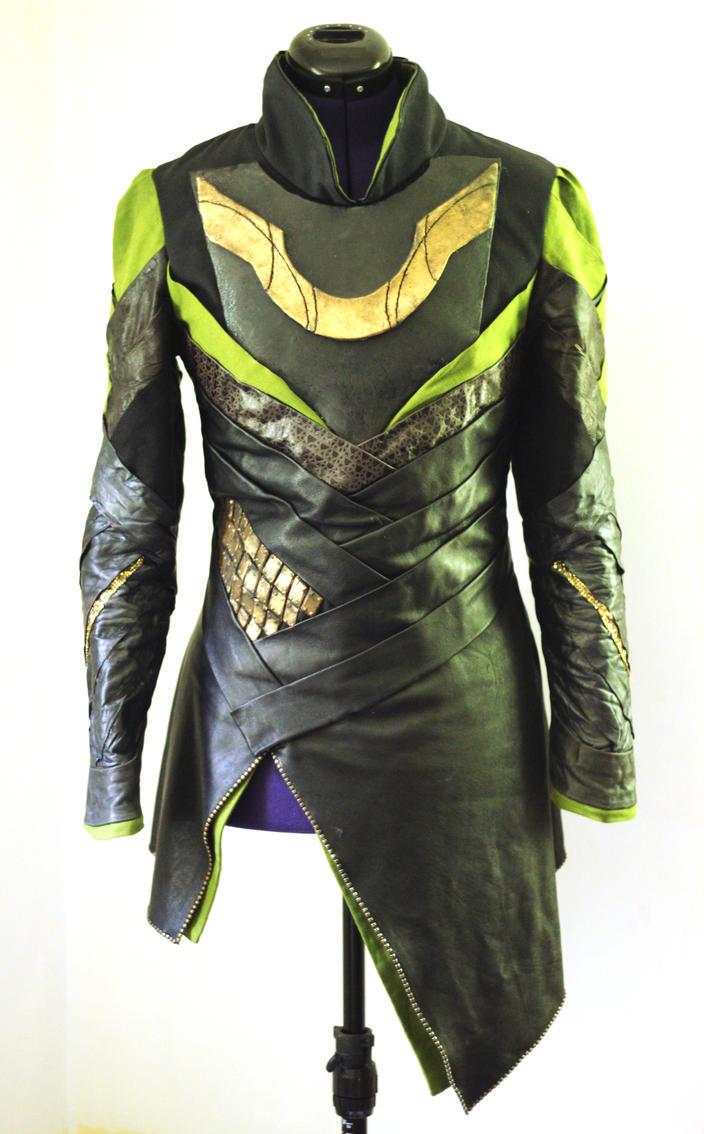 Loki Tunic from Thor: The Dark World by MirroredSilhouettes