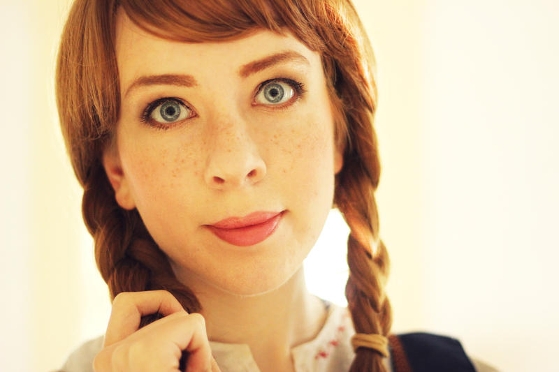 Anna Makeup/Wig Test by MirroredSilhouettes