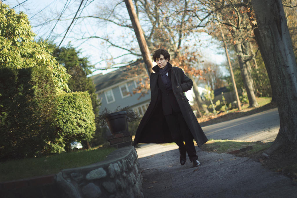 Sherlock: On the Move by MirroredSilhouettes