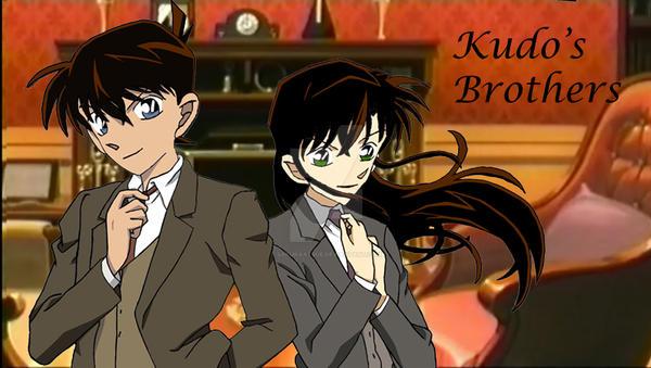 Kudo's Brothers by SakuraAtsue