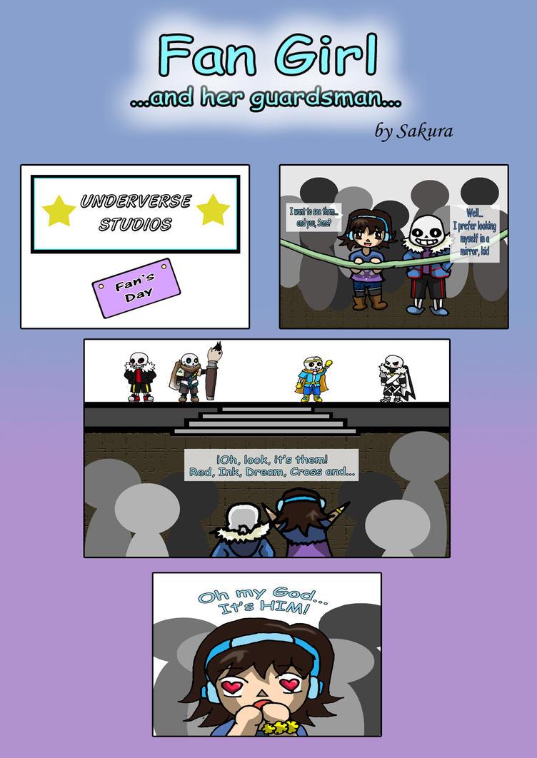 Comic: Fan Girl... and her guardsman... [Pag 1] by SakuraAtsue