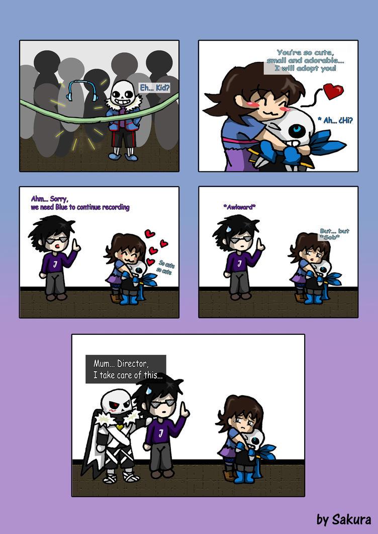 Comic: Fan Girl ...and her guardsman... [Pag 2] by SakuraAtsue