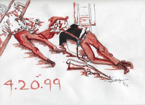 Columbine BloodPainting