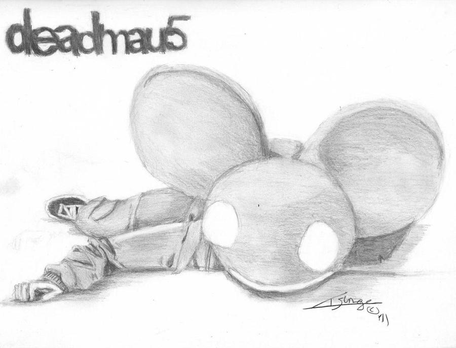 Deadmau5 head drawing