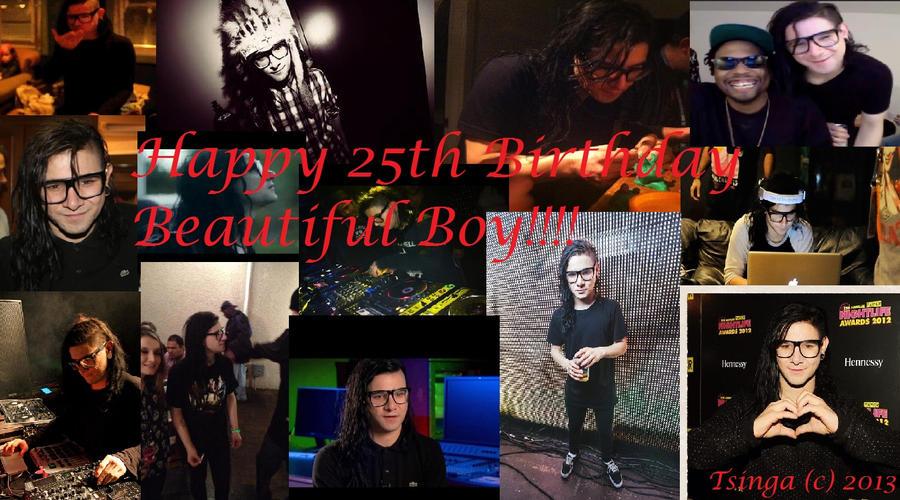 Happy 25th Birthday Skrillex By Littleskrillexkid On Deviantart