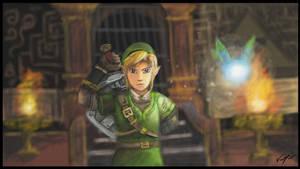 Legend Of Zelda: Link - Wii U (Art Academy)
