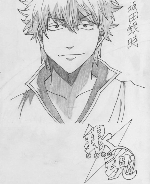 Sakata Gintoki-Gintama by Tenzo-san018
