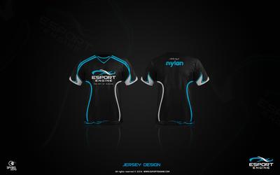 Esport Engine Jersey Design by spyers