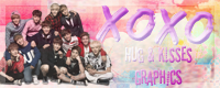 XOXO graphics button by DeathsAngel15