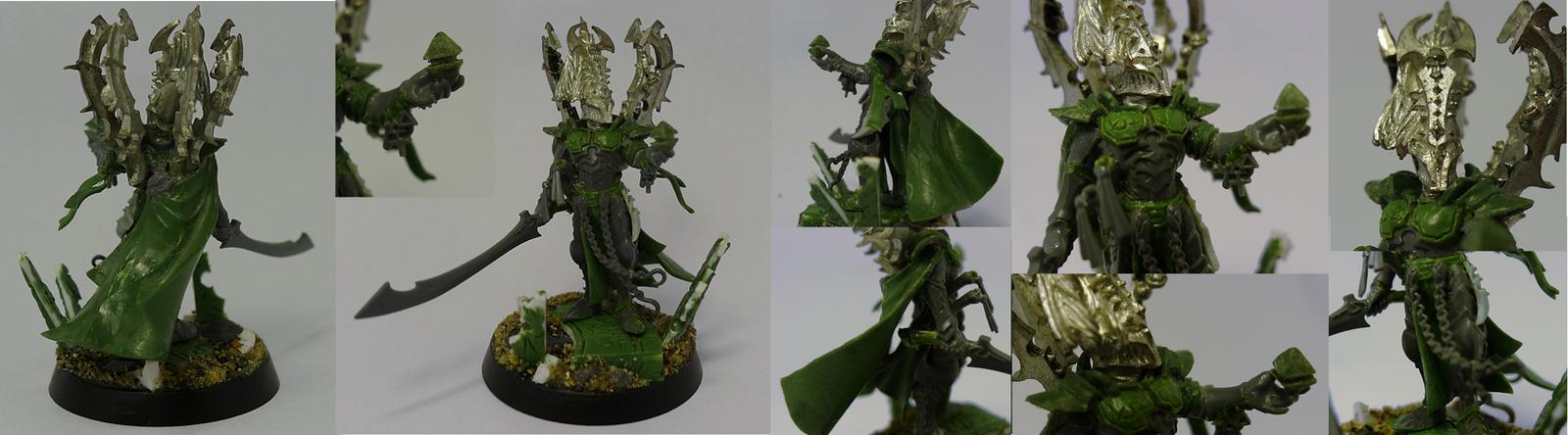Dark Eldar - Archon by Grzybcof