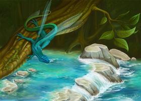 Dragon by Sekhi