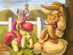 Play a song for me Applejack