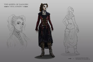 the queen of daggers final concept by marthe-rosenow