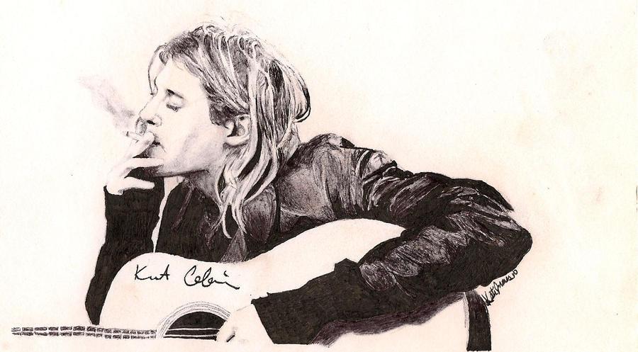 Kurt Cobain Smoking Kurt Cobain Smoking by...
