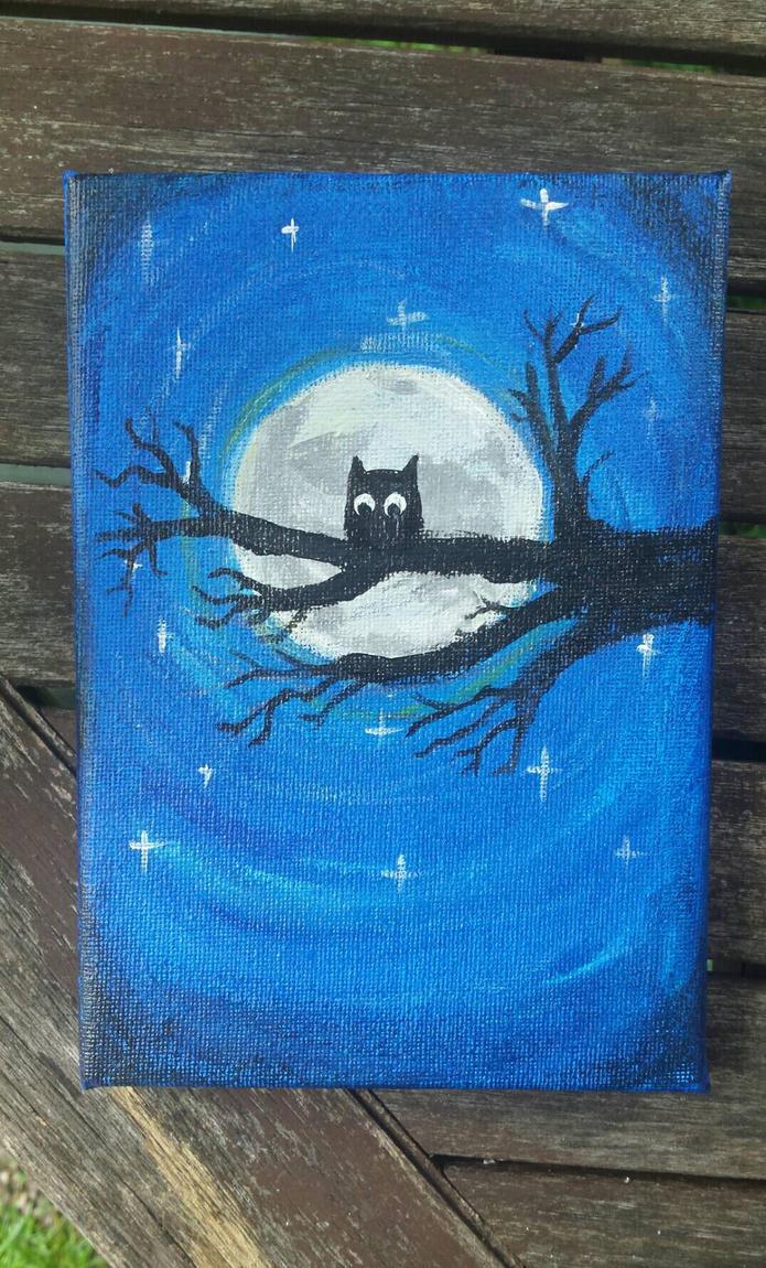 A Hoot Night. by KidoCat