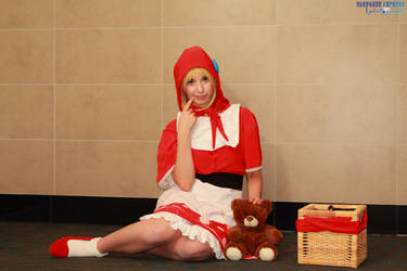 Red Riding Annie- Let's count to five! by Flanna