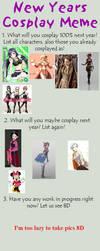Cosplay Meme 2015 by Flanna